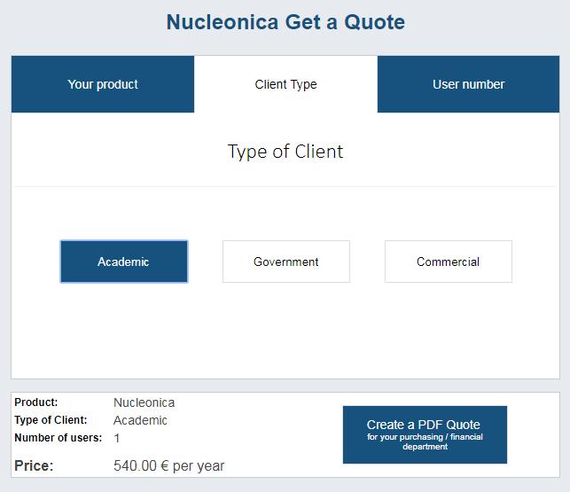nucleonica
