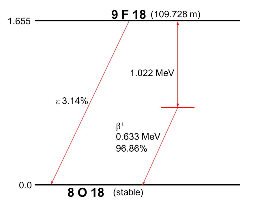 Схема распада 51cr представлена на схеме